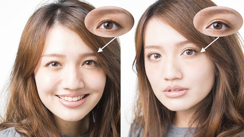 當眼影由橫→直?「縱向漸層」畫法給你兩倍放大的美人眼
