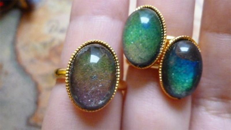 像魔法一樣隨心情而改變寶石色彩?!能參透人心的星空Mood Ring