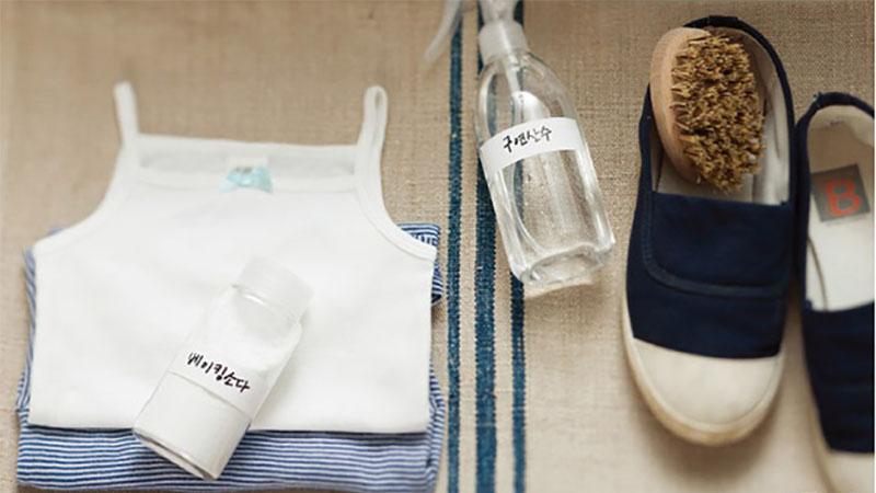別怕弄髒衣服!3招讓衣服領口、鞋子泛黃、汙垢…變乾淨