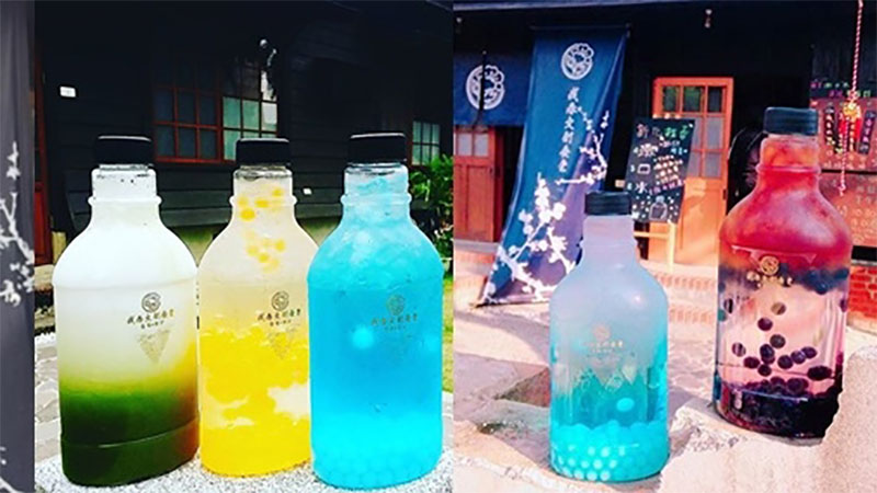喝漱口水正夯你不知道嗎?已經沒有人能阻止台南飲料店無止盡的創意了,只好殺下去台南親自會一會它們了!