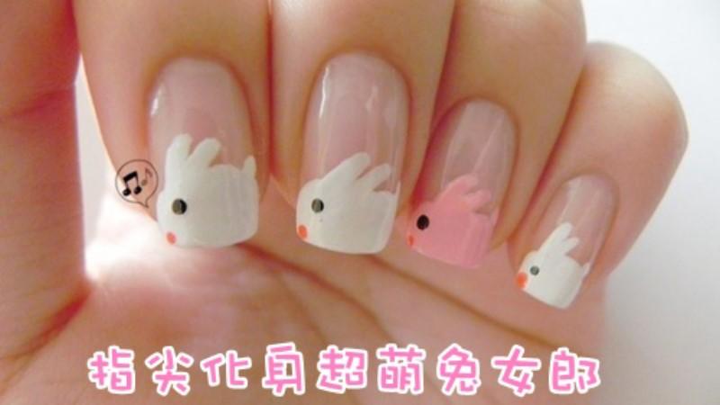 指尖化身超萌兔女郎