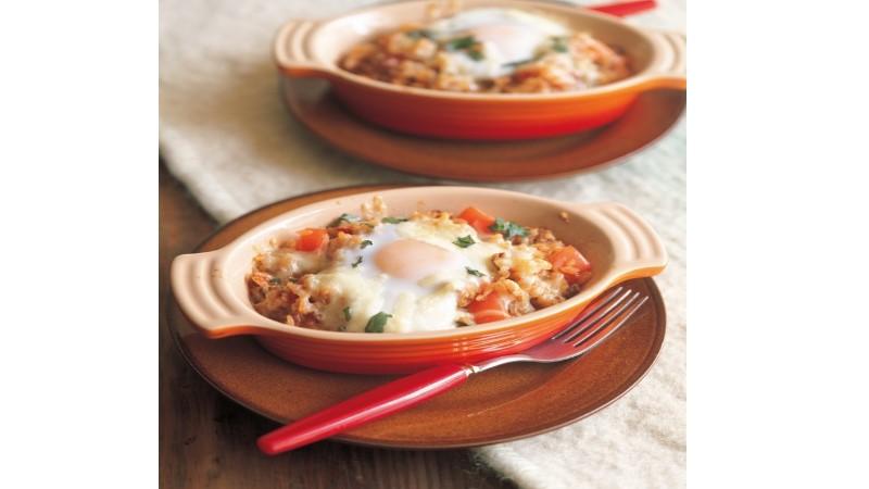 十足的米飯料理!義大利肉醬焗飯~