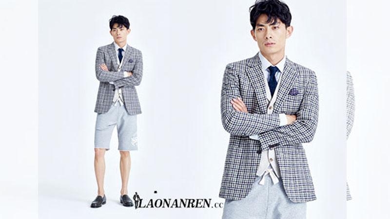男士秋季運動風服飾搭配方法復古優雅更顯成熟