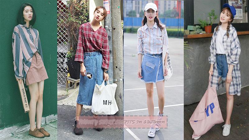 格子vs條紋~20款初秋必備小男孩風襯衣,這樣穿起來時尚度極高!