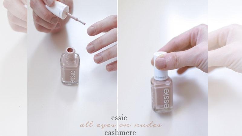 愛是輕觸又收回的手:輕盈迷幻的 Essie 裸色指甲油