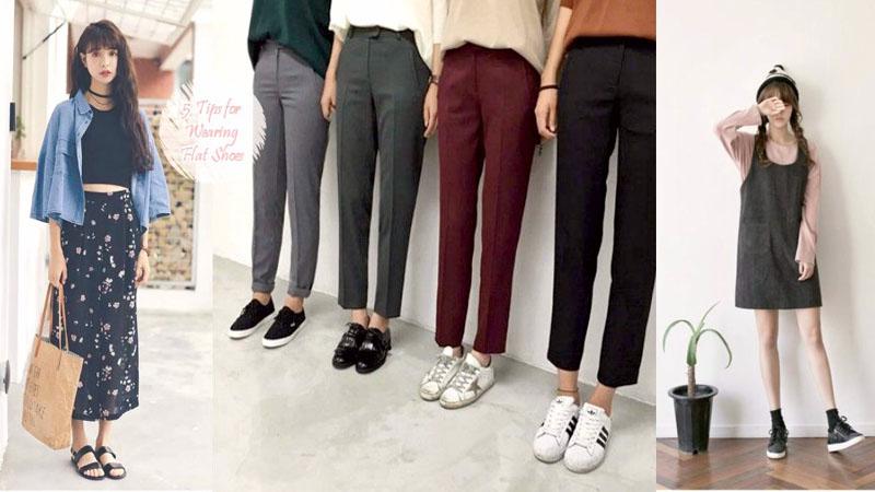 平底鞋也能穿出時尚感好嗎!5種簡單穿搭平底鞋Tips,姐就是不愛穿高跟鞋~