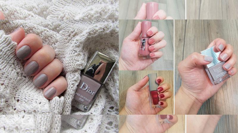 還在煩惱要換什麼顏色指甲油嗎?秋冬流行色小編全部幫你試!