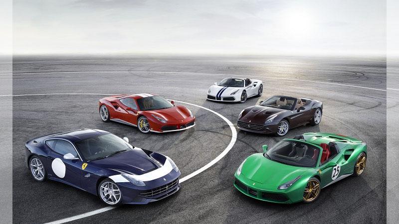 Ferrari法拉利問世70週年慶典!2016巴黎車展正式啓動