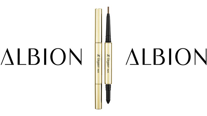 [廣編特輯]ALBION Elegance特濃持色眼線筆90 (限量金色)