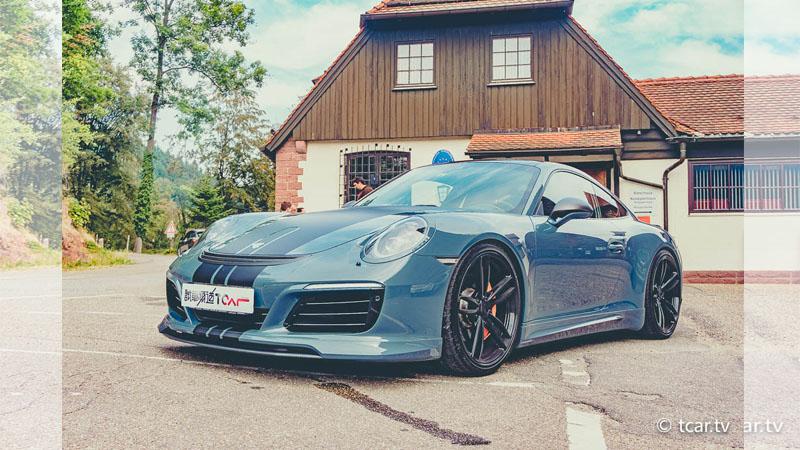 德國Porsche改車名廠的老外公關為你準備了一輛TechArt 991 MK2. Carrera
