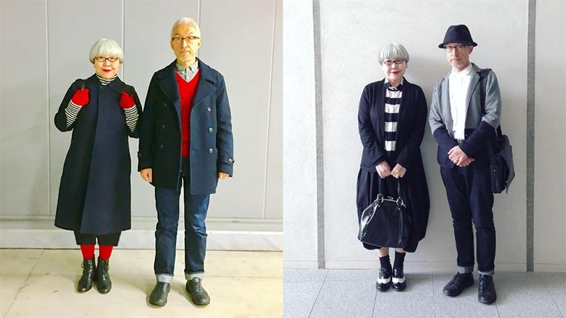 穿情侶裝37年,60歲夫妻「穿搭小心思」,放閃也要很優雅