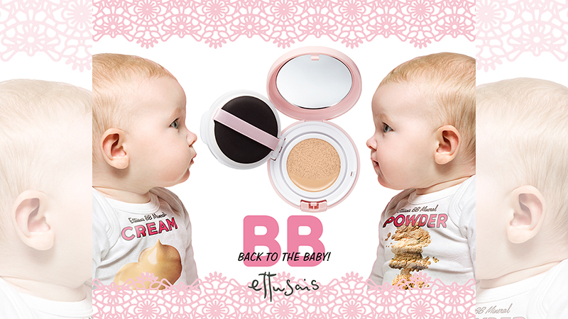 [ 廣編特輯 ]  艾杜紗首款氣墊粉餅!拍出裸光BABY肌