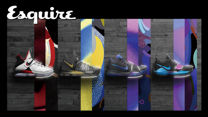 NBA季後賽火熱 Nike打造球星專屬戰靴