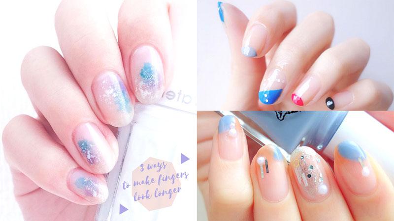 ♪短指甲都OK!3個美甲方法令手指顯得更纖幼~唔駛留長指甲就可以有一對靚手!